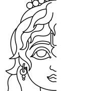Drawings Hare Krishna Kids