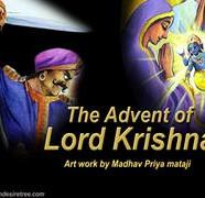 Advent Of Lord Krishna Comics