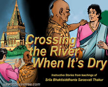 Crossing The River When Its Dry