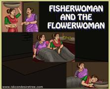 Fisherwoman And The Flowerwoman