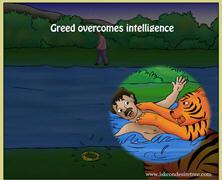 Greed Overcomes Intelligence