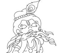 Krishna Swallowing Fire