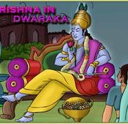 Krishna In Dwarka Comics