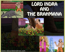 Lord Indra And The Brahmana