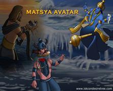 Matsya Avatara Comics