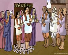 Nimai Accepts Sacred Thread