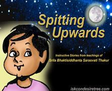 Spitting Upward