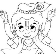 Sri Krishna Dancing