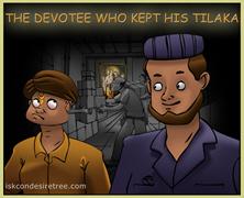 The Devotee Who Kept His Tilaka