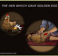 The Hen Which Gave Golden Eggs