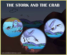 The Stork And Crab