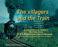 Villagers And The Train