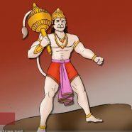 Brave Hanuman in Lanka