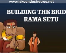 Building the bridge Ram Setu